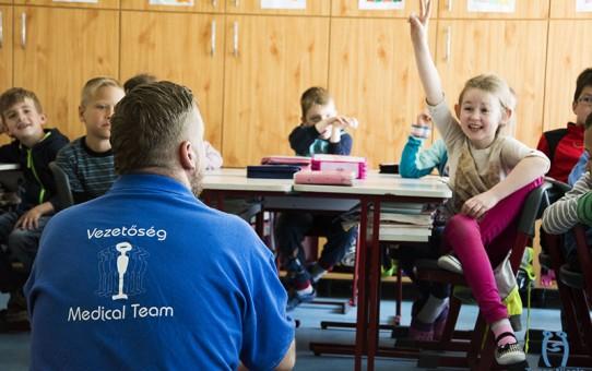Iskolalátogatás | Járőr képzés | OMSZ Családi nap | Pszichológus képzés
