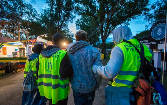 Újra itt, újra együtt!- Helperjárőrök élete a Sziget Fesztiválon